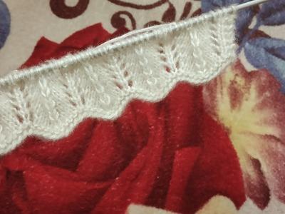 Simple Zig Zag Border Design For Cardigan.Jacket.Kurti.Frock.Girls-Top Knitting lessons#131