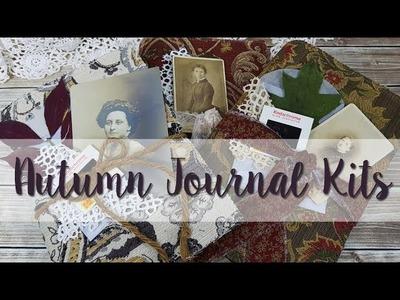 Vintage Autumn Journal Kits - Etsy Restock