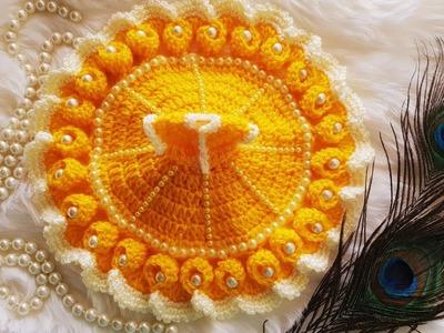 Basant Panchami Special Crochet Dress for Kanhaji | Bal Gopal | Laddu Gopal (0, 1, 2, 3 no)