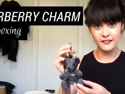 Burberry Bear Bag Charm Unboxing + Pom Poms