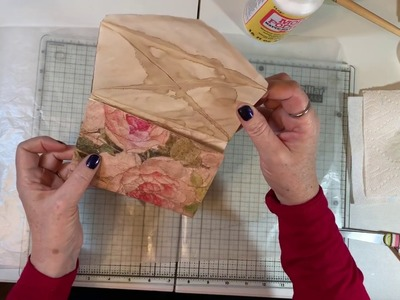 Craft with Me - Trifold Envelopes with Rice Paper