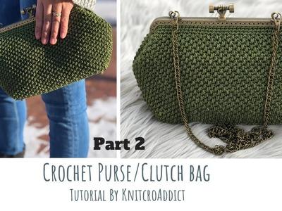 Purse bunny applique minute crochet workup bunny applique