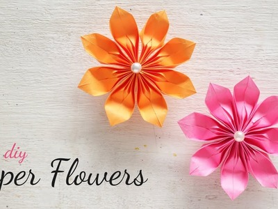 DIY Paper Flowers | Flower Making | DIY