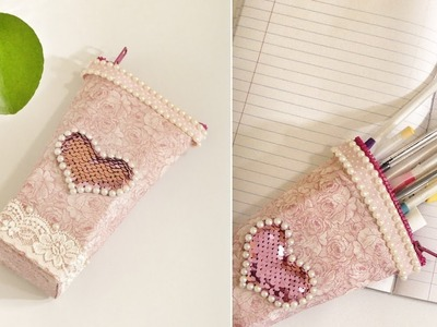 DIY PENCIL CASE: Cute & Easy Pencil Case Out of Plastic Packaging