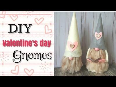 DIY Valentine's Day Gnomes   Valentine's  Treats   Mini Love Note