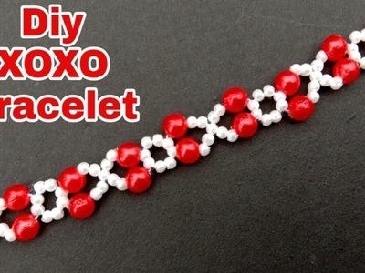 Diy. xoxo bracelets. tutorials. very advanced. made with beads