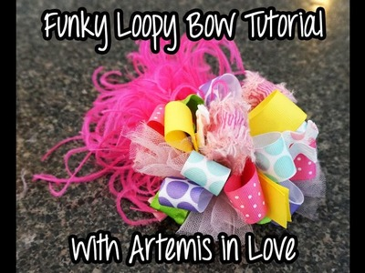 Funky Loopy Bow Method 2 with Artemis in Love
