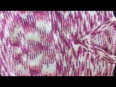 Half Sweater | Baby Sweater Knitting | V Gala | Gale Ki Bunai Natural Style