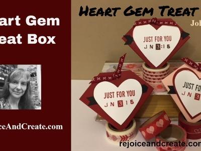 Heart Gem Treat Box
