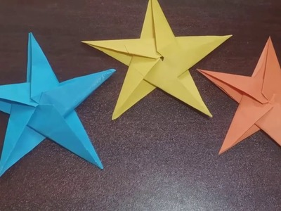 How to make star with paper peacock ,,q the tv