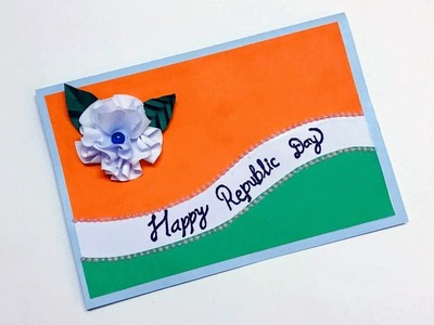 Republic Day Card Idea | How To Make Republic Day Card | Republic Day Card Handmade