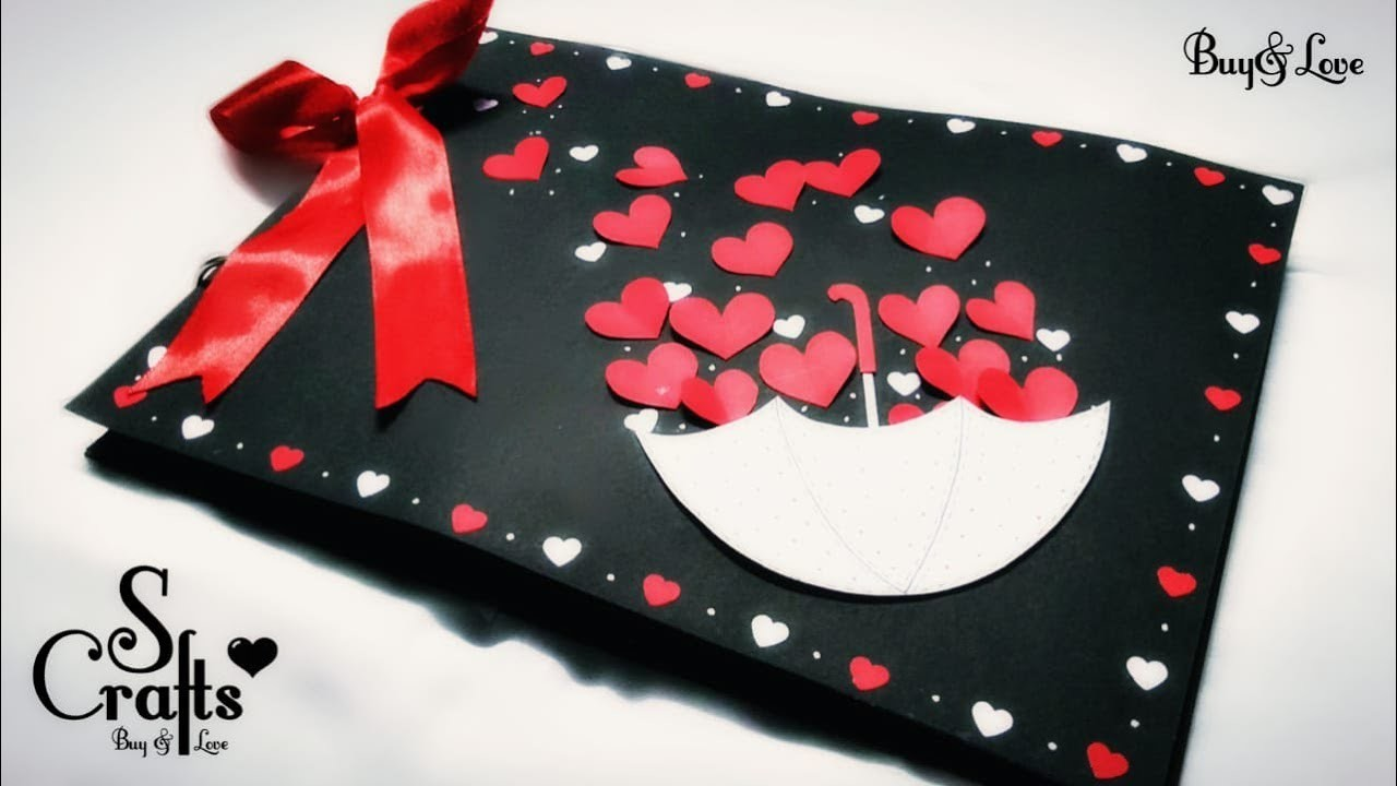 Scrapbook ???? | Handmade | S Crafts | Handmade gift ideas | for her | for him | anniversary gift