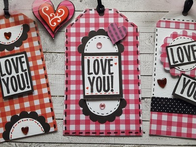 Valentine's Day Gift Tags    Mindless Crafting