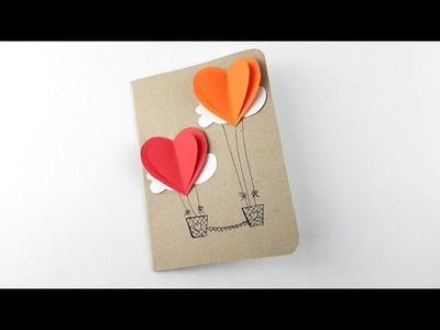 Valentine Special - Easy Handmade Valentine Card Making Idea – DIY Valentine's Day Gifts Card Design