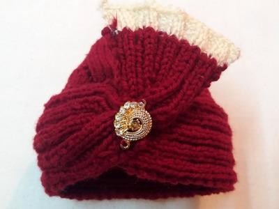 Woolen Turban. Sehra. topi. cap for baby