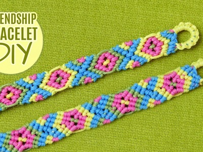 X-Style Friendship Bracelet Tutorial by Macrame School