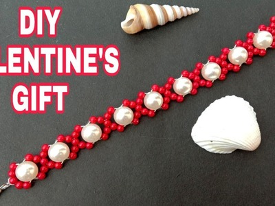 Xoxo bracelet. diy. Valentine's day gift. tutorial. useful & easy