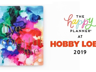 2019 Spring REVEAL!. HOBBY LOBBY 18-Month Happy Planners!