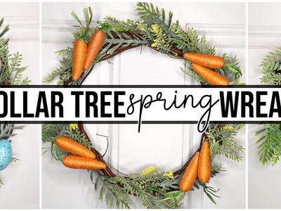 3 Dollar Tree DIY Wreaths for Spring & Easter   Farmhouse Style