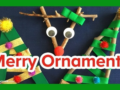 Art Activities for Kids: Holiday Ornaments by ABCmouse.com