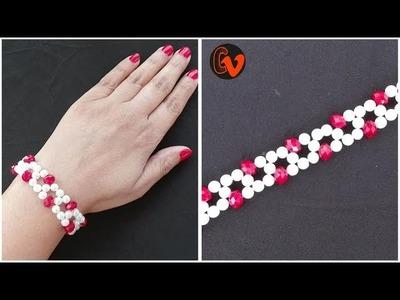 Beaded Bracelet. Tutorial