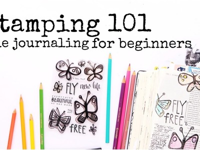 Bible Journaling for Beginners | Stamping 101