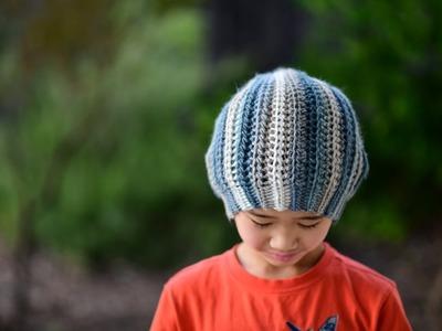 Crochet Quartz Beanie Pattern & Tutorial