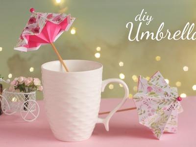 DIY Paper Umbrella | How to make Umbrella | Handmade