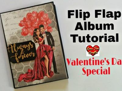 DIY Valentine's Day Gift | Flip Flap Album Tutorial