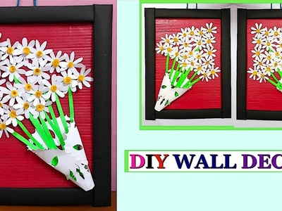 DIY Wall Decor with Cardboard and Paper |DIY Wall.Room Decoration idea |Best out of waste
