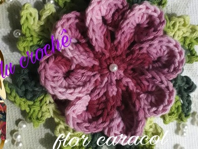 Flor caracol