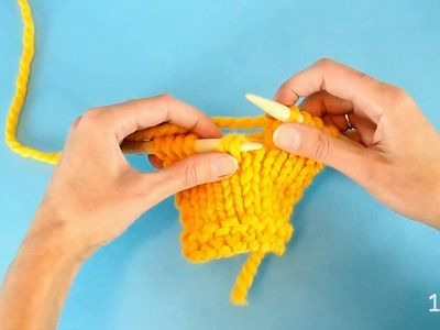 How to fix a dropped stitch (both a knit and a purl) without a crochet hook