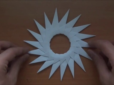 How to make a Sun Star