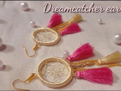 How to make Dreamcatcher earring II DIY INDIAN ARTS GALLERY II 2019