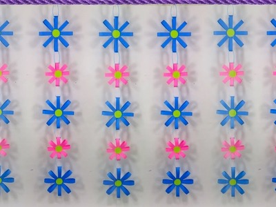 How To make Paper Wall Hanging and Door Decorations At Home