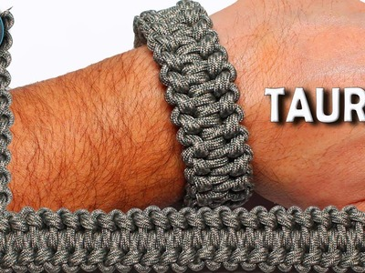 How to make Paracord Bracelet TAURUS World of Paracord DIY Paracord Tutorial