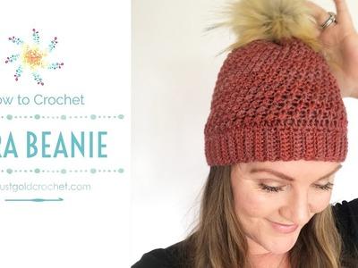 Lyra Beanie | Crochet Pattern Tutorial | Complete | Stardust Gold Crochet