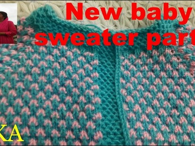 New baby sweater -part 1