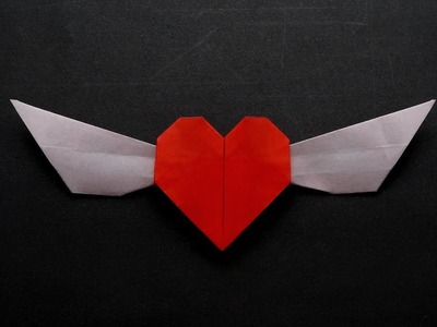 ORIGAMI FLAPPING WINGED HEART v1 (Jo Nakashima)