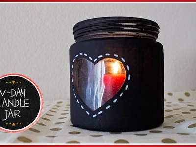 Preval's Maker Minute: Valentine's Day Peephole Heart Candle Jar