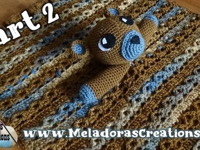 Teddy Bear Lovey Part 2 - Right Handed Crochet Tutorial