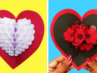 Valentine's day Card ideas | DIY pop-up card for valentines day | Craftsbox