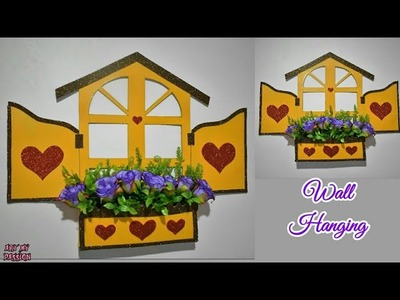 Wall Hanging Craft Ideas | Wall Decor diy | Craft Ideas for Home Decor |Flower Hanging|artmypassion
