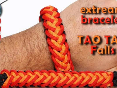 World of Paracord How to make Paracord Bracelet Tao Tao Falls - Chained Endless Falls