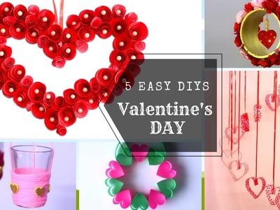 5 Easy Valentine's Day DIYs | Home Decor Ideas | Easy Craft Ideas