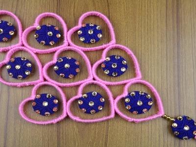 Amazing woolen design - Woolen craft idea - Best reuse ideas- Best out of waste - Door hanging ideas