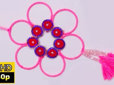 Bangle craft wall hanging | diy projects for home | decoration ideas for room | bangle wall hanging