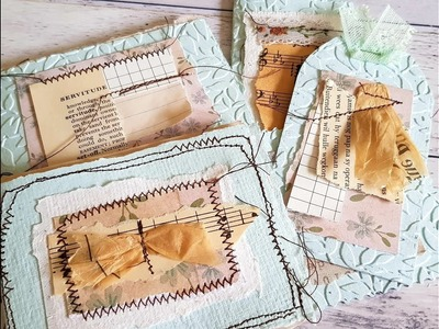 Craft along with me - Using my scrappy embellishments