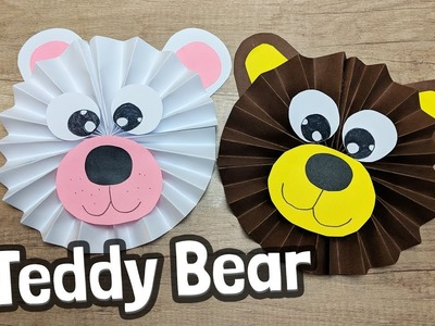 Cute Teddy Bear Craft For Kids