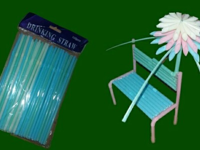 DIY Drinking Straw project || Drinking Straw Life Hack || Easy craft Making.